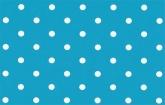 Vízkék pöttyös  - dekor öntapadós fólia (45 cm x 15 m)