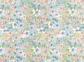 Kék virágos dekor- öntapadós fólia (45 cm x 15 m)