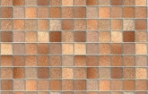 Barna mozaik - kőmintás öntapadós fólia (67,5 cm x 15 m)