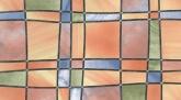 Színes négyzetes üveg - öntapadós fólia (45 cm x 15 m)