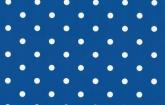 Kék pöttyös - dekor öntapadós fólia (45 cm x 15 m)