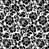 Barock fekete öntapadós fólia (45 cm x 15 m)