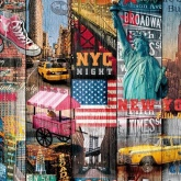 Manhattan öntapadós fólia (45 cm x 15 m)